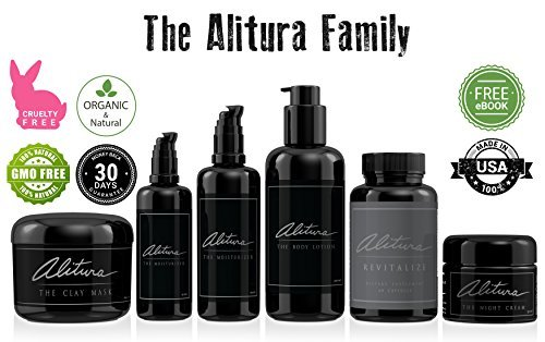 Alitura Naturals Night Cream. A Blend of Hyaluronic Acid, Plant Derived Stem Cells and Antioxidants Deliver Rich Hydration, a Brightened Complexion and Anti-Aging Benefits. For Men & Women (50 ml)