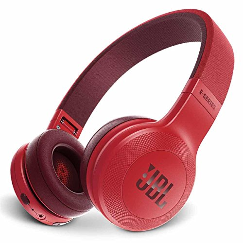 JBL E45BT On-Ear Wireless Headphones (Red)