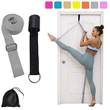 Premium Leg Stretcher Door Band Gymnastics Yoga Stretch Strap Gear Equipment