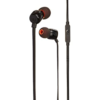 JBL JBLT110BLK In-ear Negro