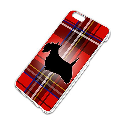 Scottie Dog on Red Plaid Scottish Terrier Slim Fit Hard Case Fits Apple iPhone 6 6s