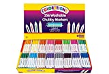 Colorations Washable Chubby Markers - Set of 256 (Item # 256CHB)