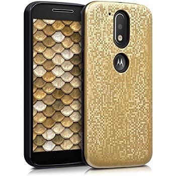 Amazon.com: kwmobile TPU Silicone Case for Motorola Moto G4 ...