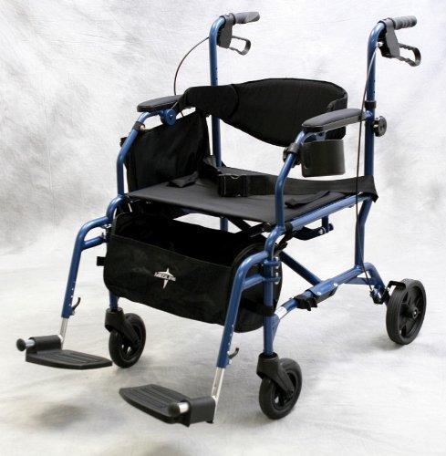 Medline - Excel Translator - Wheelchair and Rollator Combination MDS808200TR