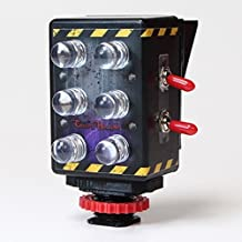 Night Vision and Full Spectrum Dual-Mode Light for Ghost Hunting