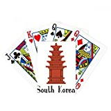 beatChong South Korea The Red Brick Tower Poker Playing Card Tabletop Board Game Gift