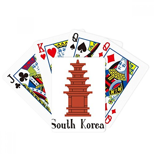 beatChong South Korea The Red Brick Tower Poker Playing Card Tabletop Board Game Gift by beatChong