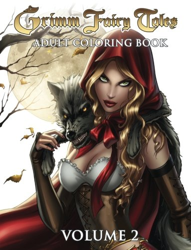 Grimm Fairy Tales Adult Coloring Book Volume 2 -