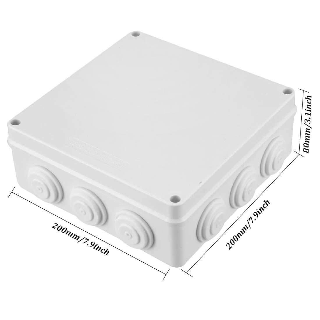 Waterproof Dustproof ABS Plastic Junction Box Universal Electric Project