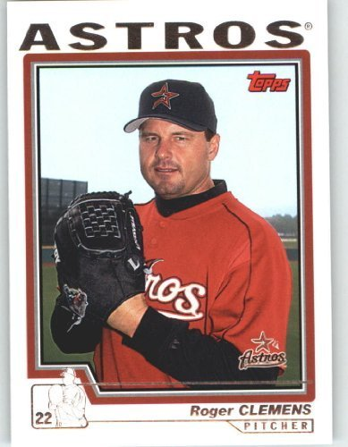 (2004 Topps Baseball Card # 518 Roger Clemens - New York Yankees - MLB Trading Card)