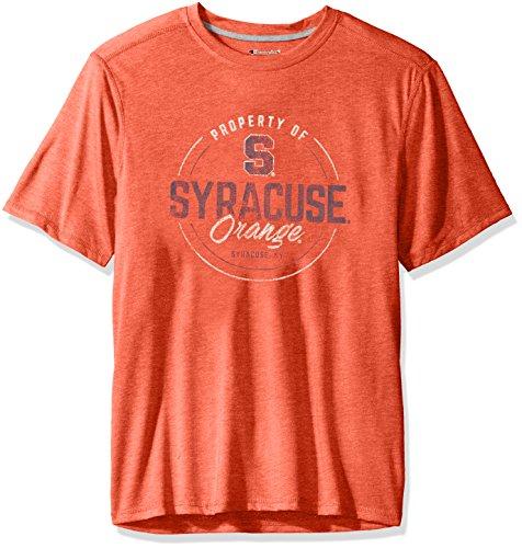 Ncaa Syracuse Orange Mens Poly  T Shirt  X Large  Orange Heather