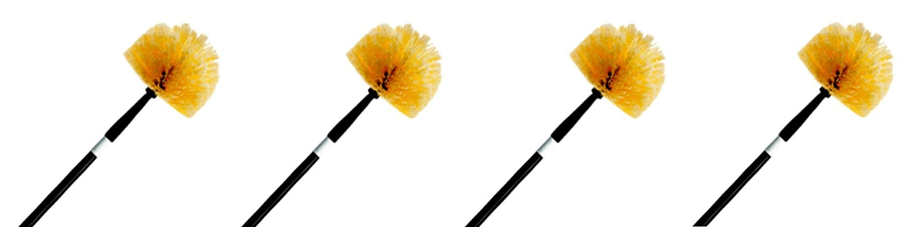 Ettore 1-(Pack), 31028 Professional Cobweb Duster with Pole (4-(Pack))