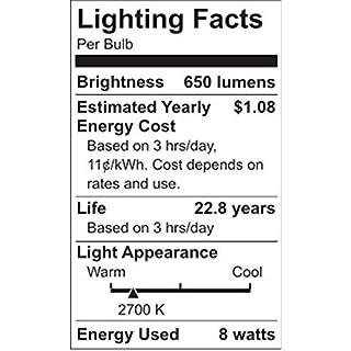 LIFX A19 Wi-Fi Smart LED Mini Light Bulb, White (Renewed)