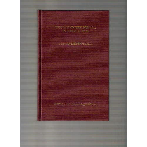 The Law of the Temple in Ezekiel 40-48 (Harvard Semitic Monographs) Steven Shawn Tuell