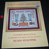 img - for A Very Merry Christmas (Counted Cross Stitch Pattern) (Kept in Stitches) book / textbook / text book