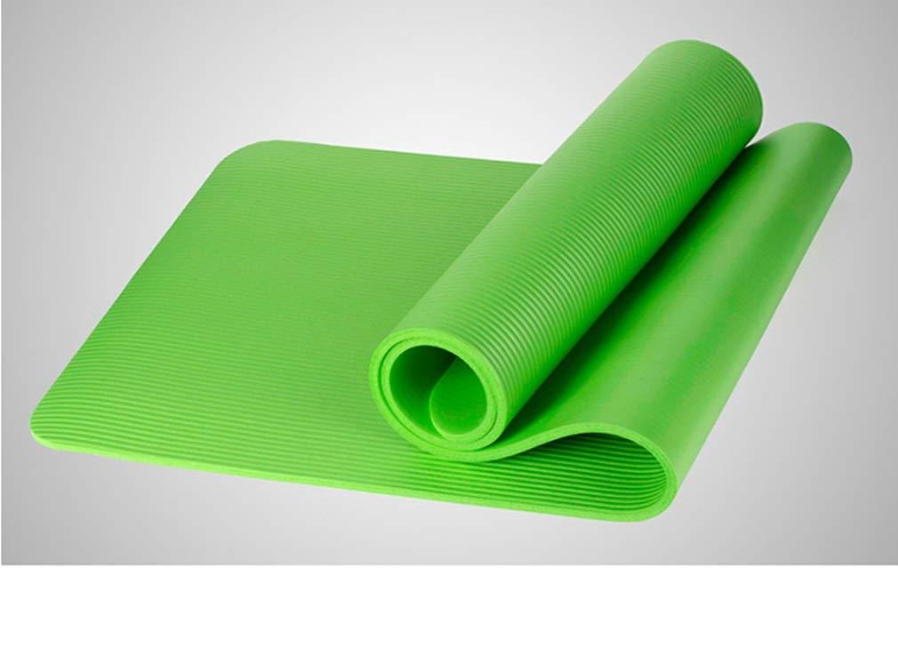 Amazon.com: Yoga Mat - Premium 10mm Extra Thick Exercise ...