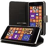 ECENCE Nokia Lumia 630 / 630 Dual SIM / 635 Custodia a Portafoglio Protettiva wallet case cover 41020301