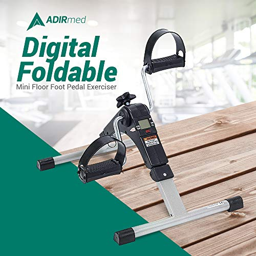AdirMed Digital, Foldable Pedal Exerciser Leg Machine (Fully Assembled, no tools required) by AdirMed (Image #1)