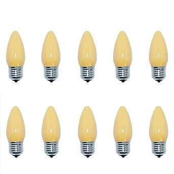 100 x Glühbirne 15W E27 Orange Glühlampe 15 Watt Glühbirnen Glühlampen Party