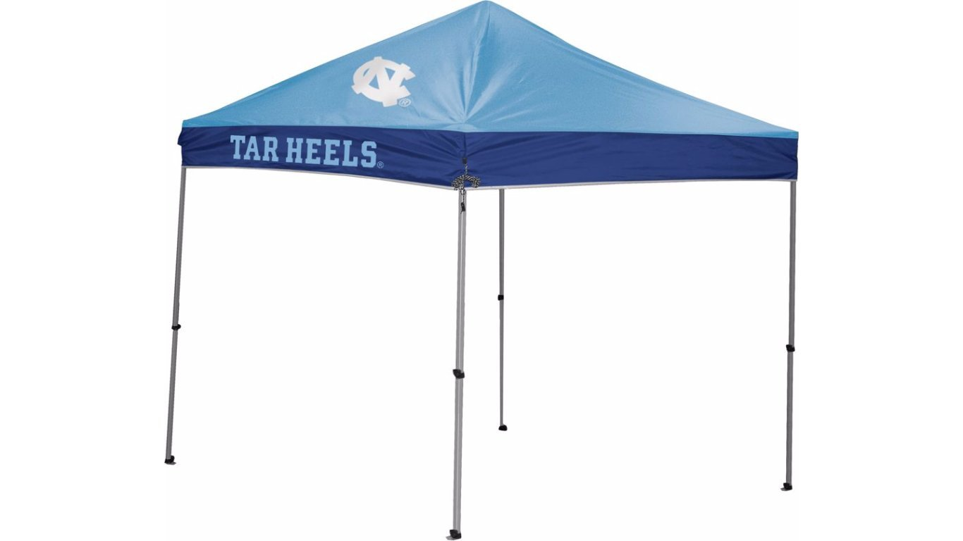 NCAA Instant Pop-Up Canopy Tent with Carrying Case, 9x9X108