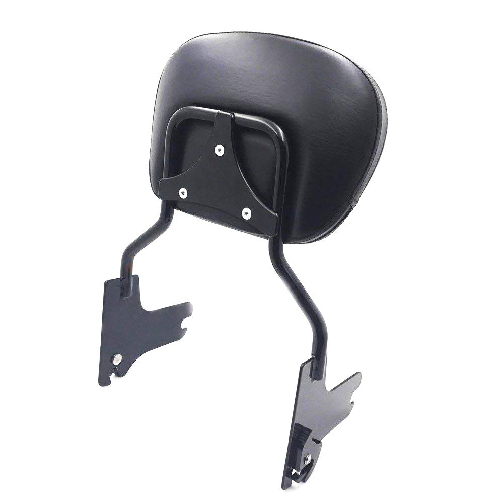 Gloss Black Detachable Backrest Sissy Bar Fit for Harley Davidson Touring Road King Street Glide Electra Glide Road Glide 1997-2008