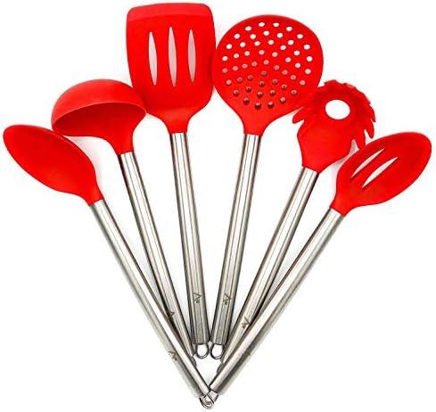 RED Piece Kitchen Utensil Set