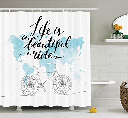 Ambesonne Collection Inspirational Motivational Illustration