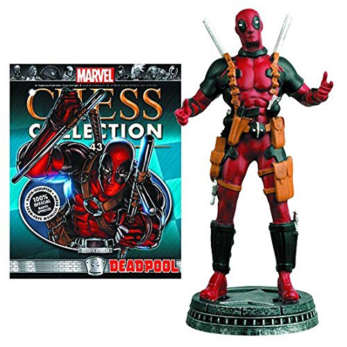 Marvel Chess Collection Part 43 DEADPOOL (White Pawn)