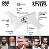 Manecode Beard Guide Tool for Trimming - Shaper
