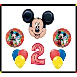 Disney Mickey Mouse Clubhouse 2 Happy Birthday Balloon Set Party Decoration by Anagram