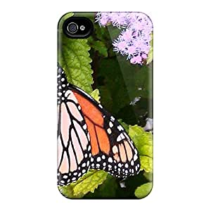 SherriFakhry Iphone 4/4s Perfect Cell-phone Hard Covers Unique Design Trendy Butterfly Pattern [ofM7420EYiJ]