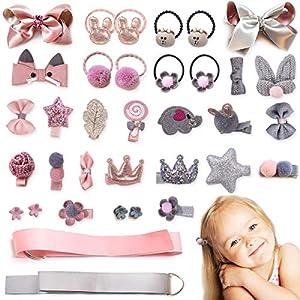 36pcs Baby Girls Hair Accessories