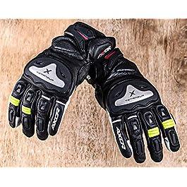 Axor Ventura Black Neon Green Gloves-XXL