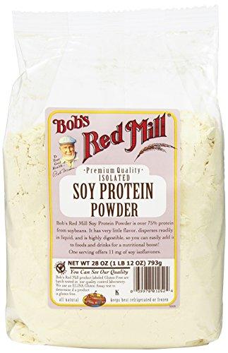 Red Mill protéines de soja de la poudre de Bob, 28 onces paquets (Pack de 4)