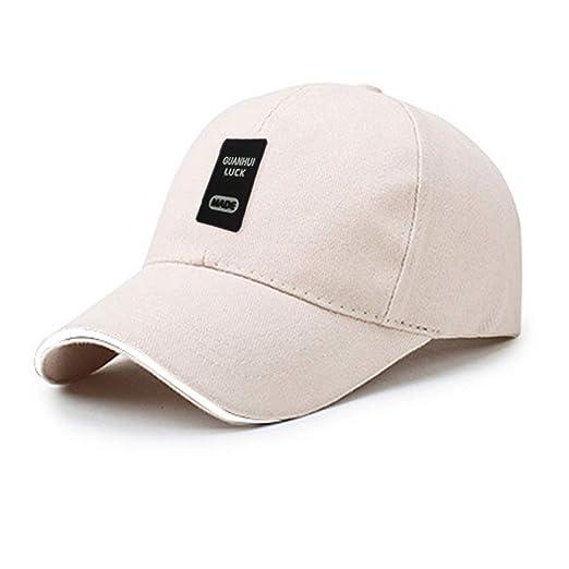 Nuevo Sombrero de algodón Unisex Simple Deportes al Aire Libre ...