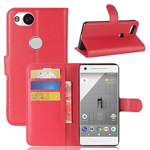 Zhuhaixmy Folio 2 Protectora Carpeta Rojos Para La Google La Bolsa La Caja De Azul De Cuero De Cubierta Titular En De Píxel Piel 6Azr6n1