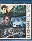 Own the Moments Triple Feature: Cyborg / Death Warrant / Double Impact