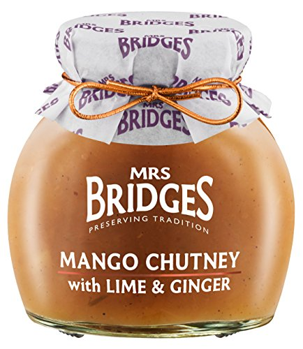 (Mrs Bridges Mango Chutney with Lime and Ginger, 10.2 Ounce )