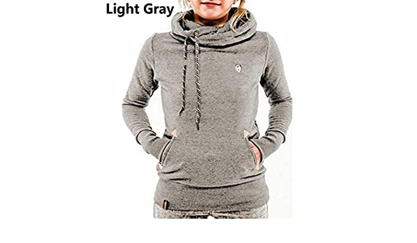 Women Hoodies Sweatshirt Long Sleeve Hooded Pocket Design Warm Hoodie Women Sudaderas Mujer at Amazon Womens Clothing store: