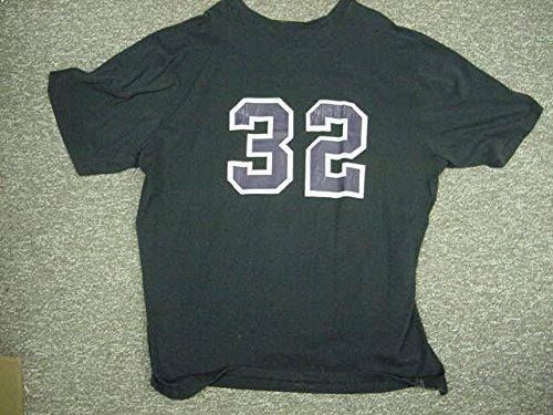 (Karl Malone Utah Jazz 1994-1995 Champion Game Worn Shooting Shirt)