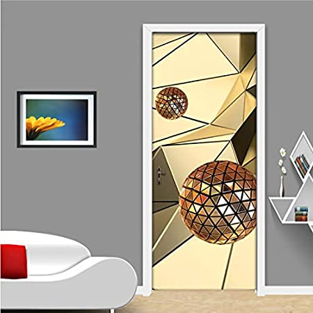 Nouveau en pvc impression Autocollant Mural pour Imperméable Motif meubles