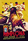 Pamplona, San Fermin - 12x18 Art Poster by Charles Dana Gibson