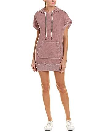 ec18074054850 Amazon.com: Splendid Womens Sleeveless Sweatshirt Hoodie Dress: Clothing