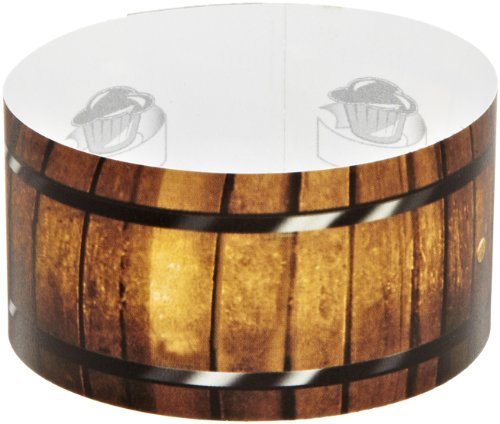 Roundabouts Cupcake Sleeves Wine Barrel Cupcake Sleeve (Pack of 24)