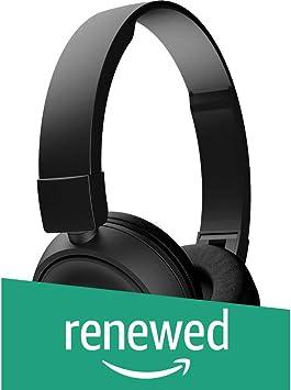 JBL T450BT - Auriculares inalámbricos con Bluetooth y micrófono Compatible con Dispositivos Apple y Android (reacondicionados) T450BT T450BT Negro: Amazon.es: Electrónica