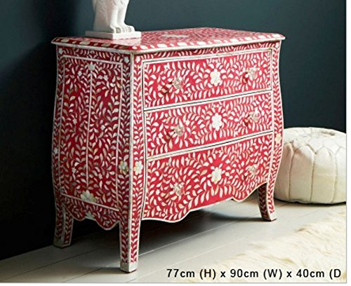 Bone Inlay Floral Sideboard Made Best Inlay Designers Furniture