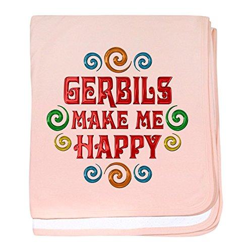CafePress Gerbil Happiness baby blanket - Baby Blanket, S...