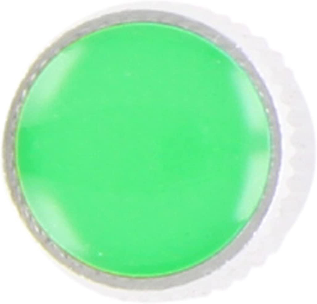 Bl/íster con 4 Unidades Tap/ón V/álvula Cromado con Cubierta Verde SUMEX 400690V