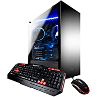 iBUYPOWER Gaming Desktop AMD Ryzen 5 2400G with Radeon RX Vega 11 Onboard Graphics, 8GB DDR4, 120GB SSD, Win 10, ARC 032A