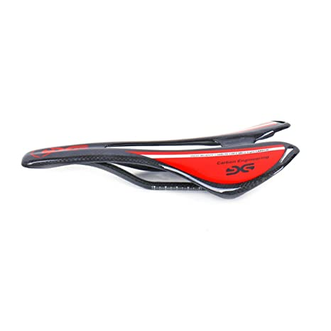 ELITA ONE Super ligero de fibra de carbono Ciclismo Sillines,bicicleta de carretera/bicicleta